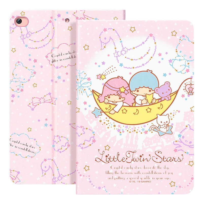 UKA Hello Kitty Auto Sleep Folio Stand Leather Case Cover for Apple iPad (2018) & iPad (2017)