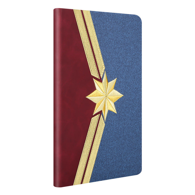 UKA Marvel Avengers Auto Sleep Folio Stand 3D Embroidery Leather Case Cover for Apple iPad