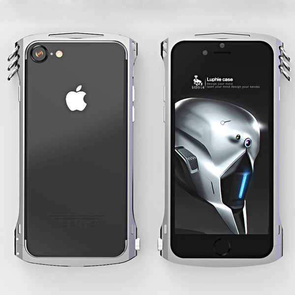 Luphie Alien X1 Aluminum Bumper Metal Frame Case Cover for Apple iPhone