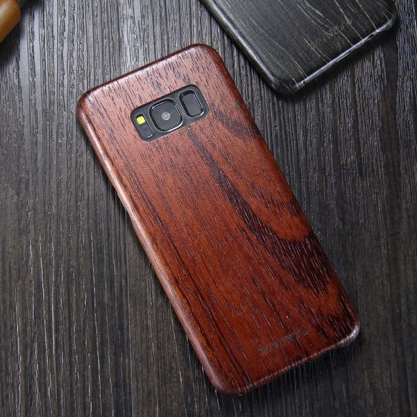 SHOWKOO Kevlar Natural Wood Ultra Slim Case Cover