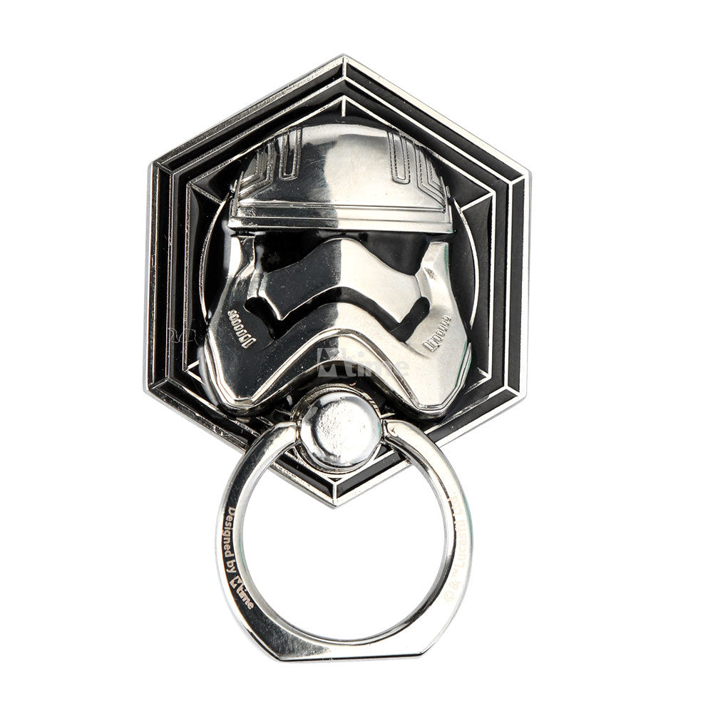 Star Wars Stormtrooper 360° Rotating Anti-drop Zinc Alloy Metal Finger Ring Grip Phone Holder