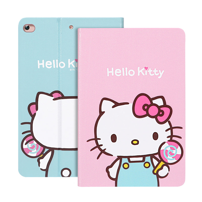 UKA Hello Kitty Auto Sleep Folio Stand Leather Case Cover for Apple iPad mini 5 (2019)