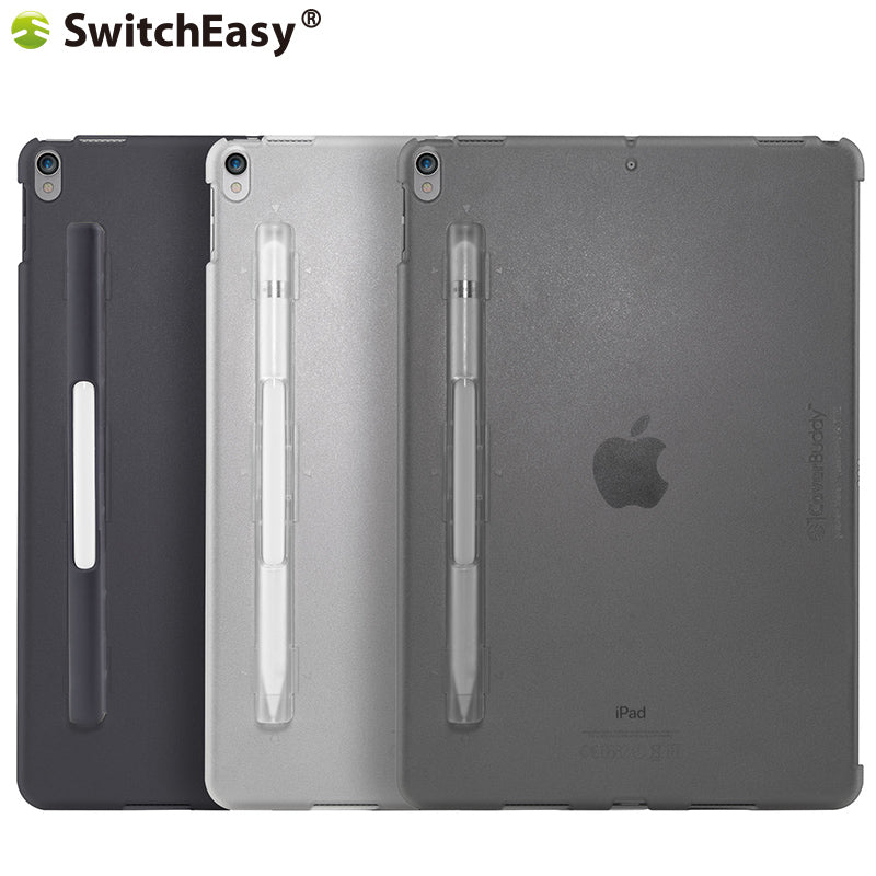 SwitchEasy CoverBuddy Pencil Holder Hard Polycarbonate Back Cover Case for Apple iPad