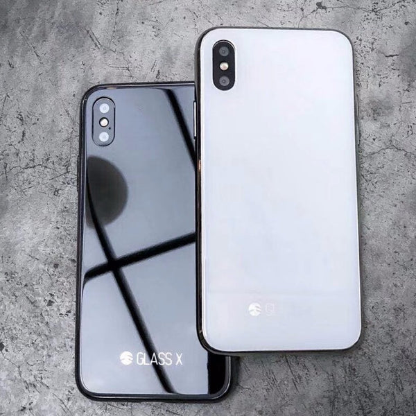 competitive price 1a1a8 54540 SwitchEasy GLASS X Worlds First GLASS iPhone X Feel Like Upgrade Case