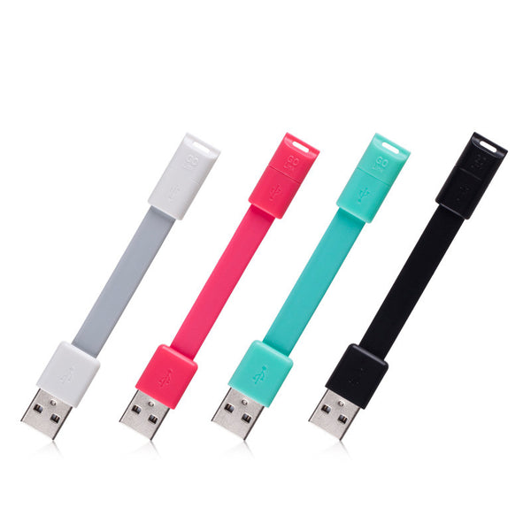 MOMAX GO-Link 10cm Portable 1-Take Micro USB Cable