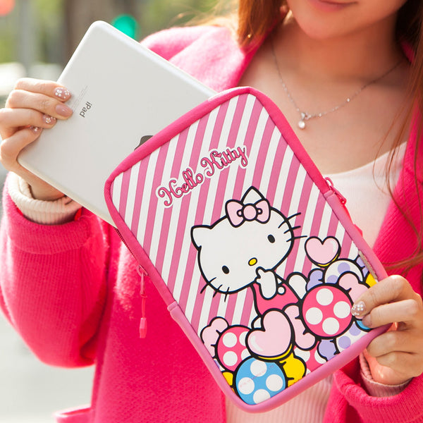 X-Doria Hello Kitty Stand Sleeve Bag for 7-8 Inch Tablet PC