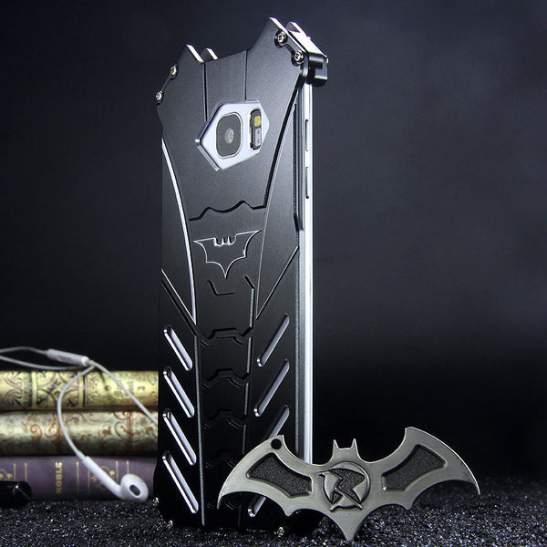 R Just Batman Shockproof Aluminum Shell Metal Case With