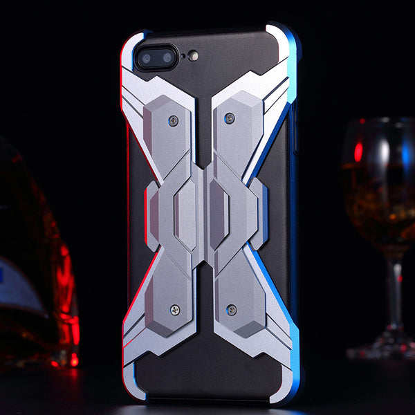 Luphie Neo Armor EVA Wings Shockproof TPU Metal Case Cover