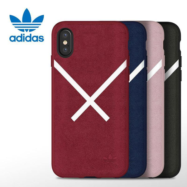 adidas Originals Plush Leather Case for Apple iPhone X/8 Plus/8/7 Plus/7