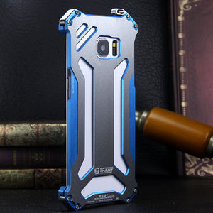 R-Just Gundam Aerospace Aluminum Contrast Color Shockproof Metal Shell Outdoor Protection Case - Armor King Case