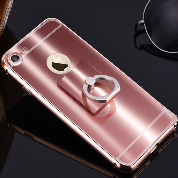 iy Slim Lightweight Aluminum Metal Bumper Dazzle Color Acrylic Back Cover Case