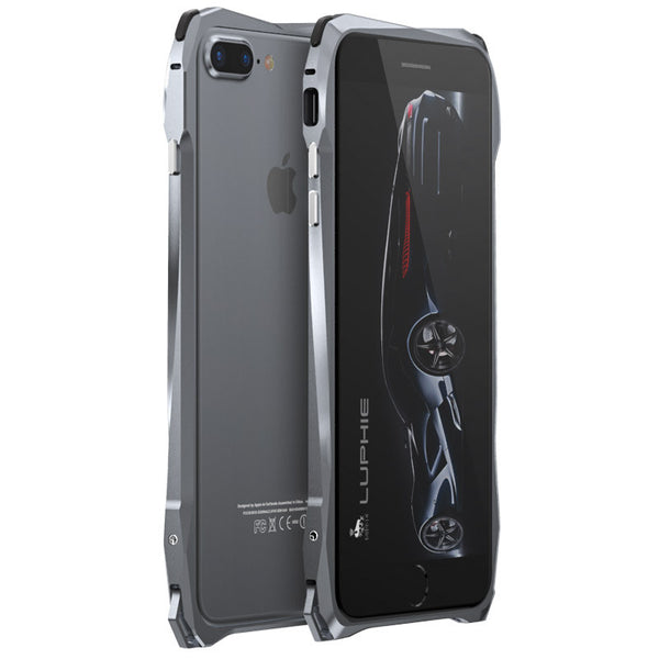 Luphie Sports Racing Car Aluminum Metal Bumper Case Cover for Apple iPhone