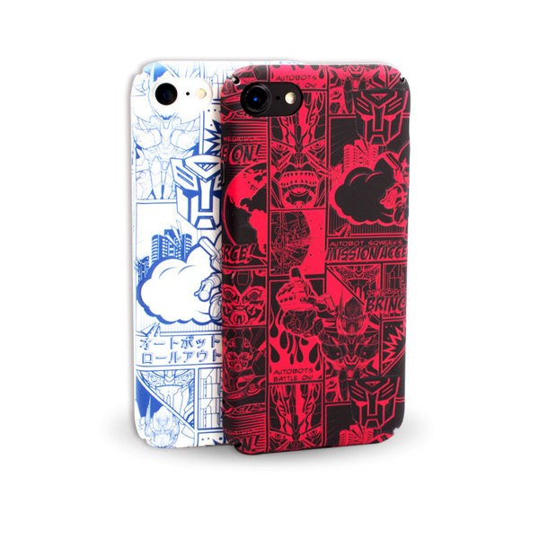 Transformers Matte Hard PC Case Cover for Apple iPhone 7 Plus/7