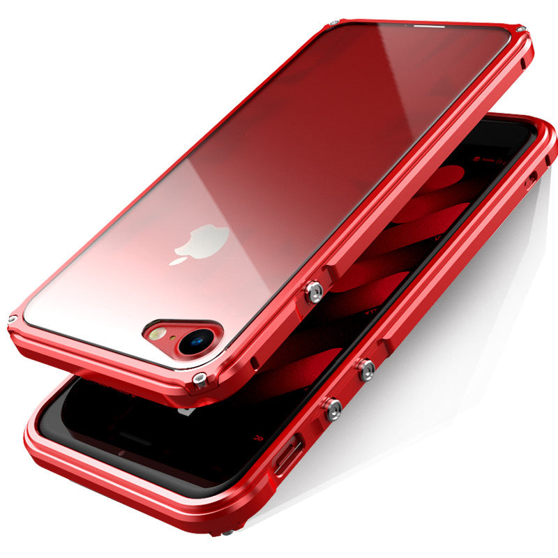 GINMIC Legend Slim Mechanical Aluminum Metal Bumper Scratch Resistant Transparent PC Cover Case