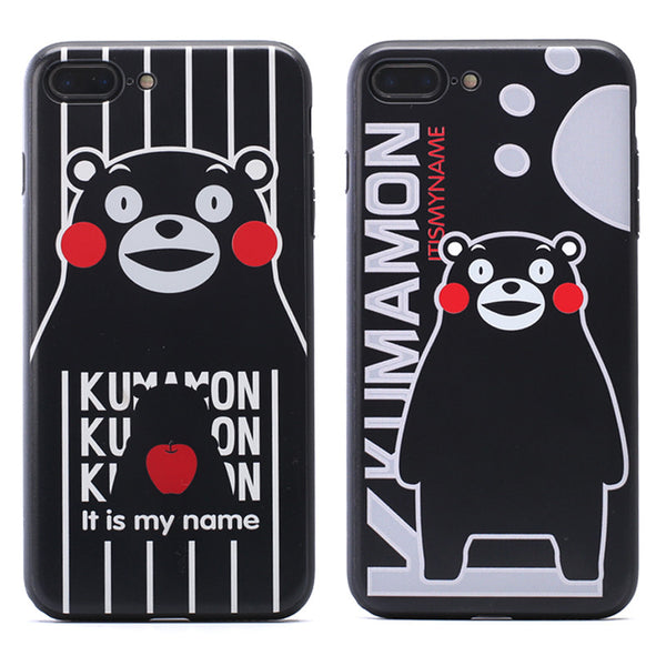 Kumamon Matte PC+TPU Hard Back Cover Case for Apple iPhone 7 Plus & iPhone 7