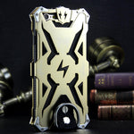 SIMON THOR Aviation Aluminum Alloy Shockproof Rugged Metal Case Cover for iPhone 6S/6