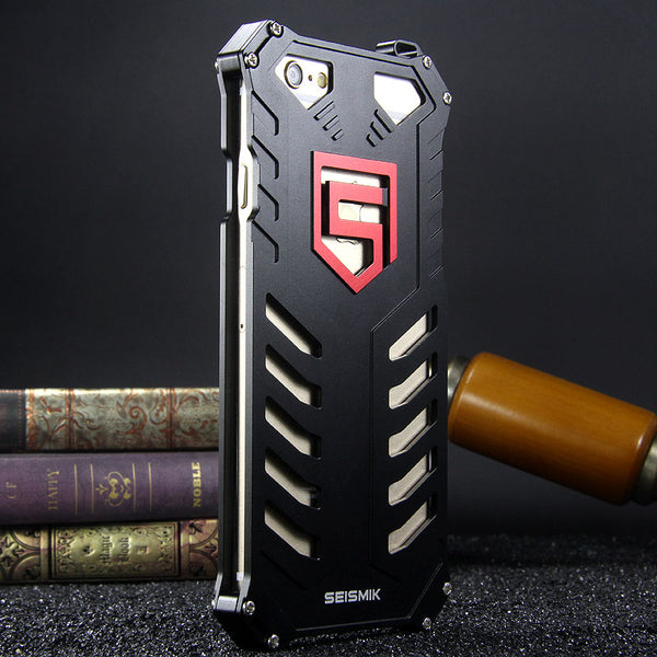 SEISMIK S-ONE Armor Man Shockproof Aluminum Shell Metal Case Cover