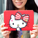 X-Doria Hello Kitty Silk Texture Auto Sleep Folio Stand Leather Case for Apple iPad
