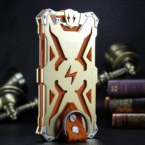 SIMON THOR Aviation Aluminum Alloy Shockproof Rugged Metal Case Cover
