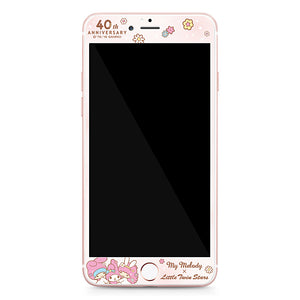 GARMMA My Melody & Little Twin Stars Tempered Glass Screen Protector for iPhone 6S Plus/6S/6 Plus/6