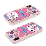 GARMMA Pinkholic Hello Kitty | My Melody Shockproof Air Cushion Transparent TPU Soft Back Cover Case