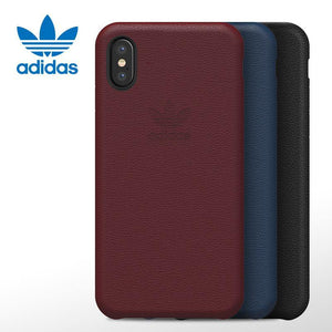 adidas Originals Genuine Leather Slim Case for Apple iPhone XS/X