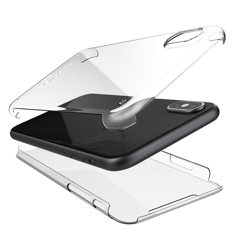 X-Doria Defense 360 Full Coverage Ultra-Slim Transparent PC Case Cover
