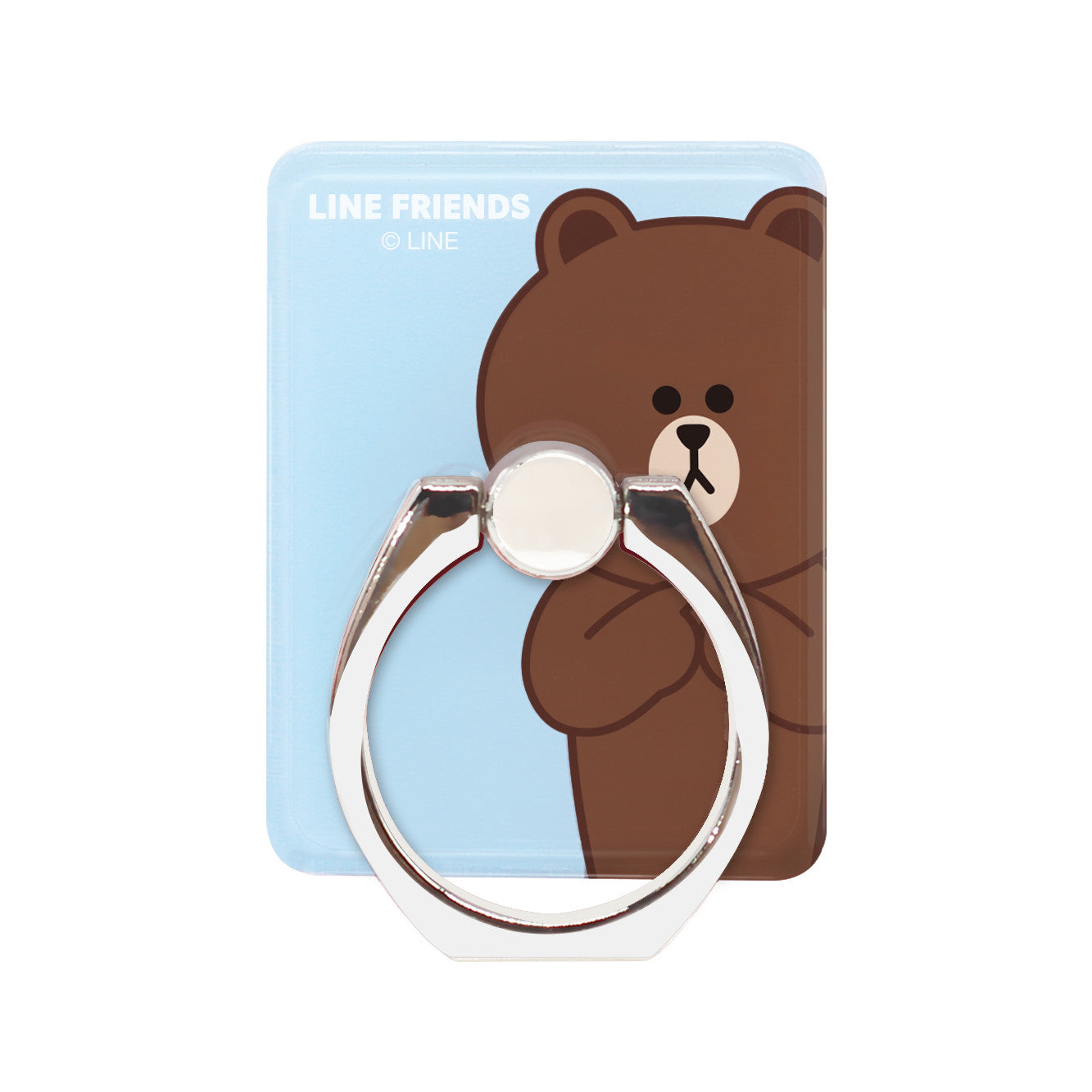 GARMMA Line Friends 360° Rotating Anti-drop Finger Ring Grip Phone Holder