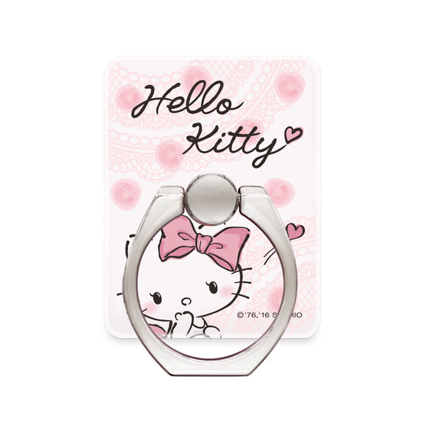 GARMMA Hello Kitty 360° Rotating Anti-drop Finger Ring Grip Phone Holder