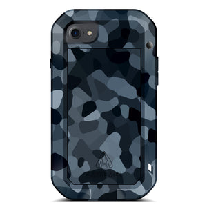 LOVE MEI Powerful Camouflage Shockproof Metal Heavy Duty Case Cover