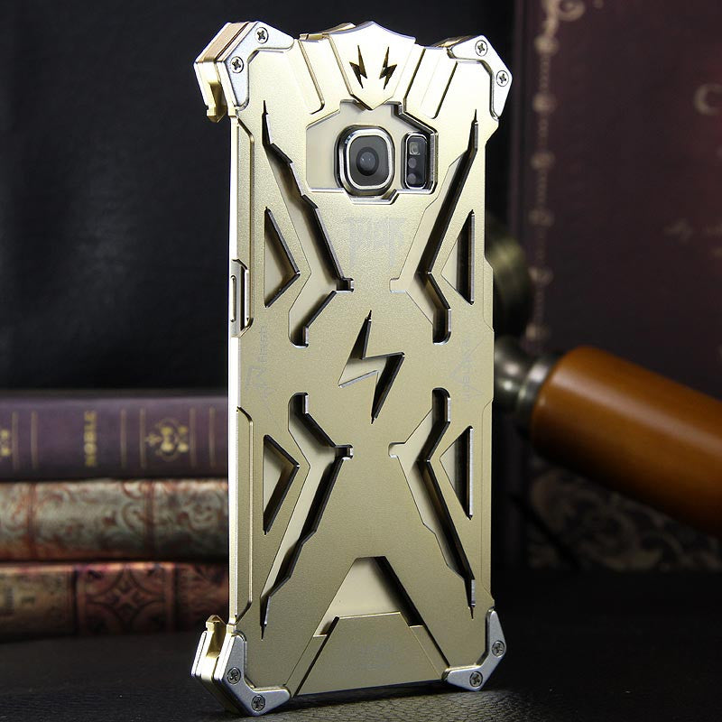 SIMON THOR Aviation Aluminum Alloy Shockproof Armor Metal Case Cover