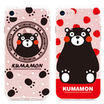 GARMMA Kumamon Air Cushion Transparent TPU Soft Back Cover Case for Apple iPhone