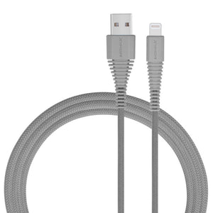 MOMAX Tough-Link Apple MFI Certified 2.4A Lightning Cable / 3A Type-C to Type-C Cable