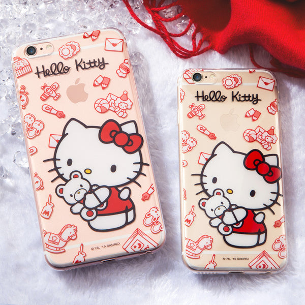 282ef1e49 X-Doria Hello Kitty Transparent TPU Soft Cover Case for Apple iPhone 6S Plus /