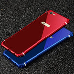 iy Rainbow Super Drop-proof Aluminum Metal Bumper Dazzle PC Back Cover Case