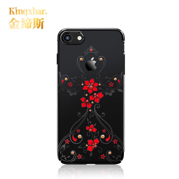 KAVARO Phoenix Bling Crystal Diamond Swarovski Element Hard PC Transparent Sparkly Case Cover