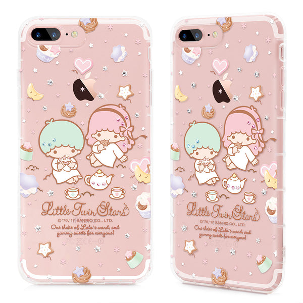 new style 94b99 a7f81 GARMMA Hello Kitty & My Melody & Little Twin Stars Bling Crystal Diamonds  Soft Back Cover Case