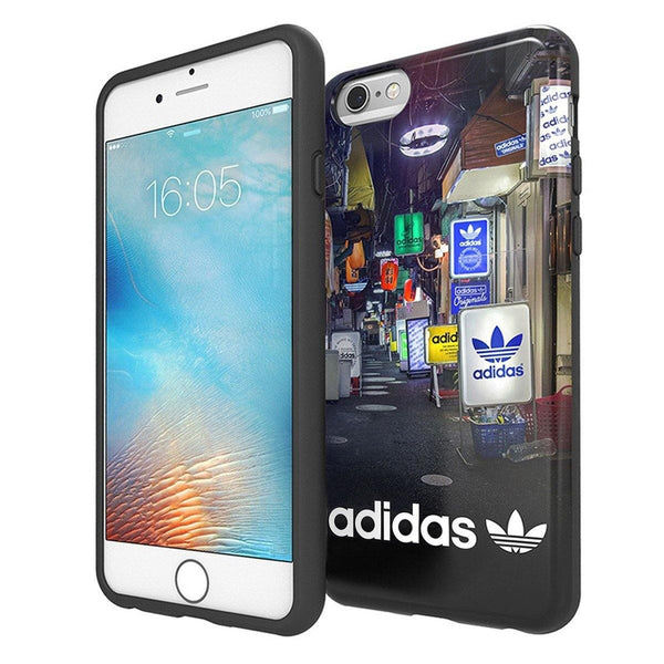 adidas Originals MENS Graphic TPU Back Case Cover for Apple iPhone 8 Plus/8/7 Plus/7/6S Plus/6