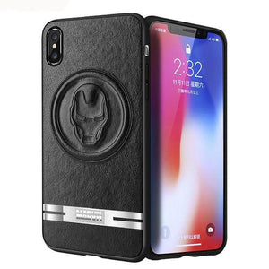 X-Doria Marvel Avengers Clever 3D PU Leather Case Cover for Apple iPhone XS/X/8 Plus//7 Plus/7