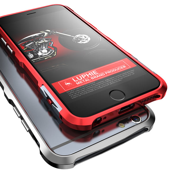 Luphie Ares Halberd Rotary Snap Slim Light Aluminum Bumper Metal Shell Case