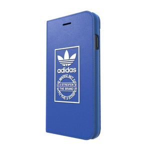 adidas Originals Booklet Canvas Folio Leather Case Cover for Apple iPhone 8/7