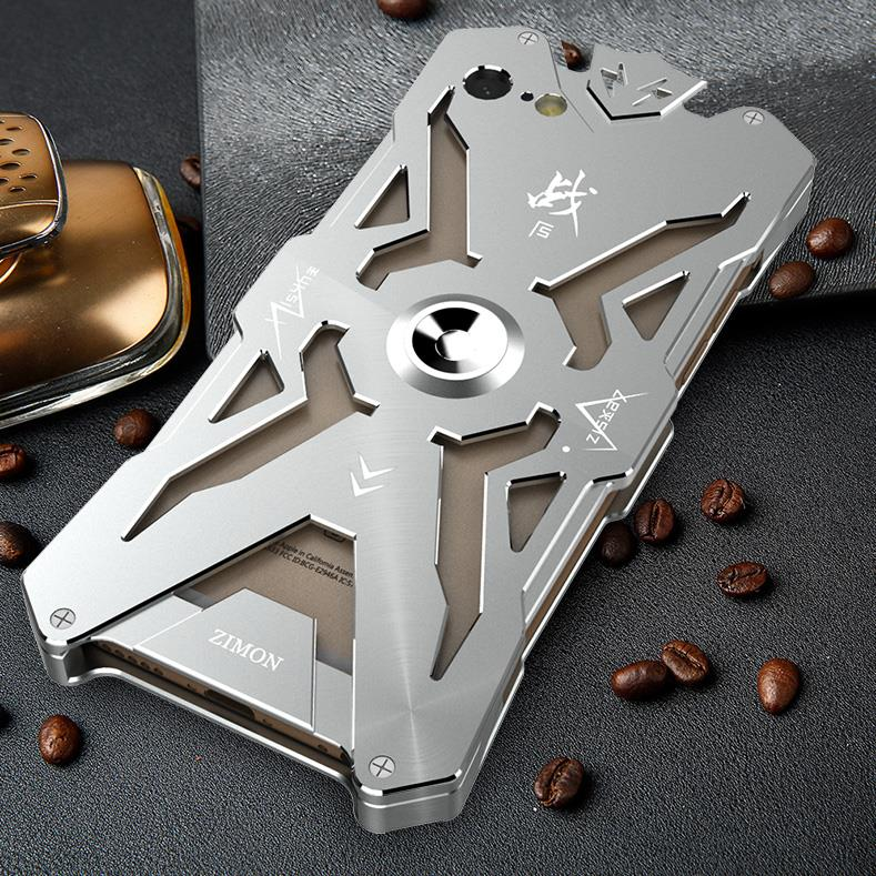 SIMON THOR Magnetic Bracket Aviation Aluminum Alloy Shockproof Armor Metal Case Cover