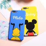 Disney Color Printing Hard PC Cover Case for Apple iPhone 8/7 Plus
