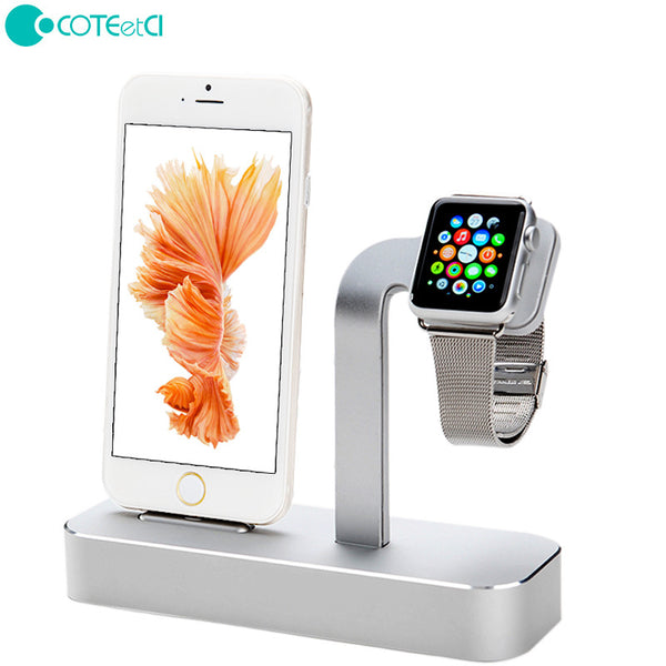 COTEetCI Aluminum Charging Station Lightning / Type-C / Micro USB / Apple Watch Desktop Charge Base
