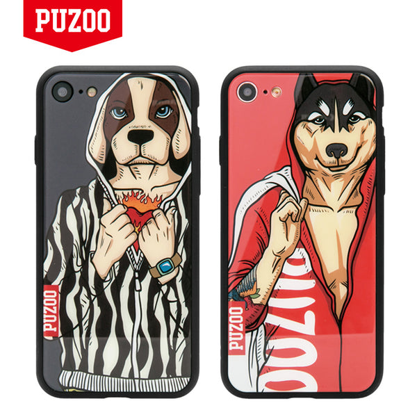 PUZOO Yuppie Series Coloured Glaze Case Cover for Apple iPhone