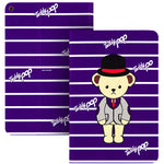 Teddy Bear Auto Sleep Folio Stand Leather Case Cover for Apple iPad
