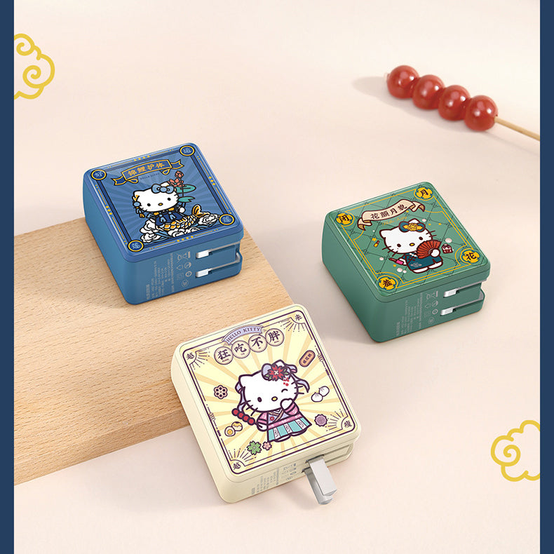 UKA Hello Kitty CNY Cube 30W PD Type-C + USB Dual Output Fast Charger