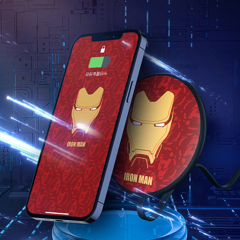 UKA Marvel Avengers 15W Fast Charging Pad Wireless Charger