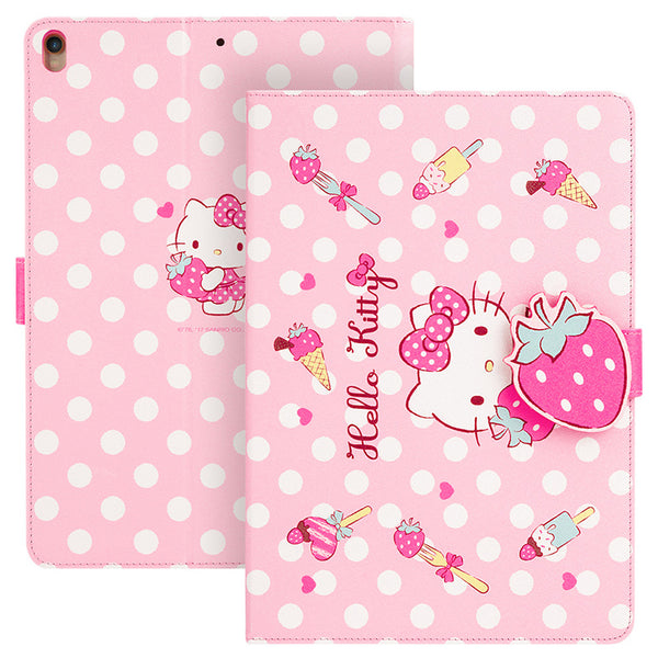 UKA Hello Kitty Auto Sleep Folio Stand Leather Case Cover for Apple iPad Pro 10.2-inch