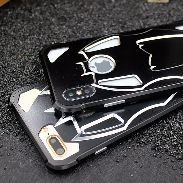 WK Batman Military Grade Shockproof Screw-less Metal Case Cover